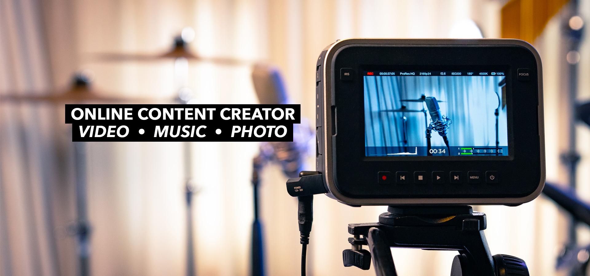 online content creator mike attinger